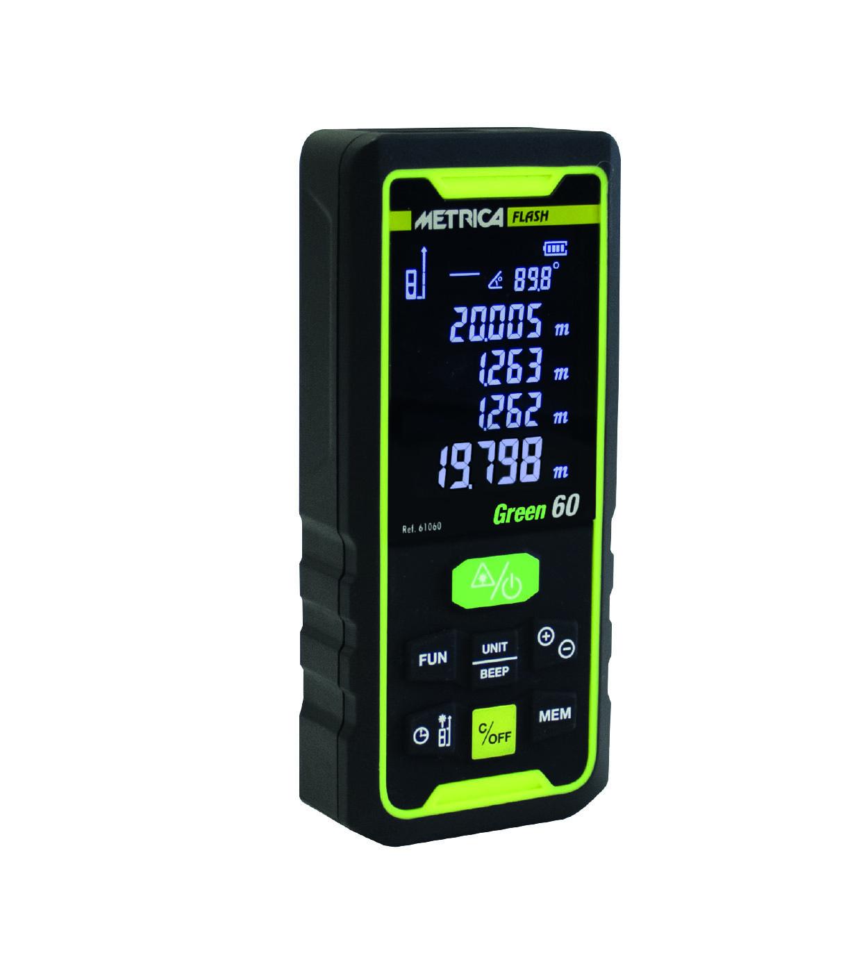 Laser Entfernungsmesser Flash Green