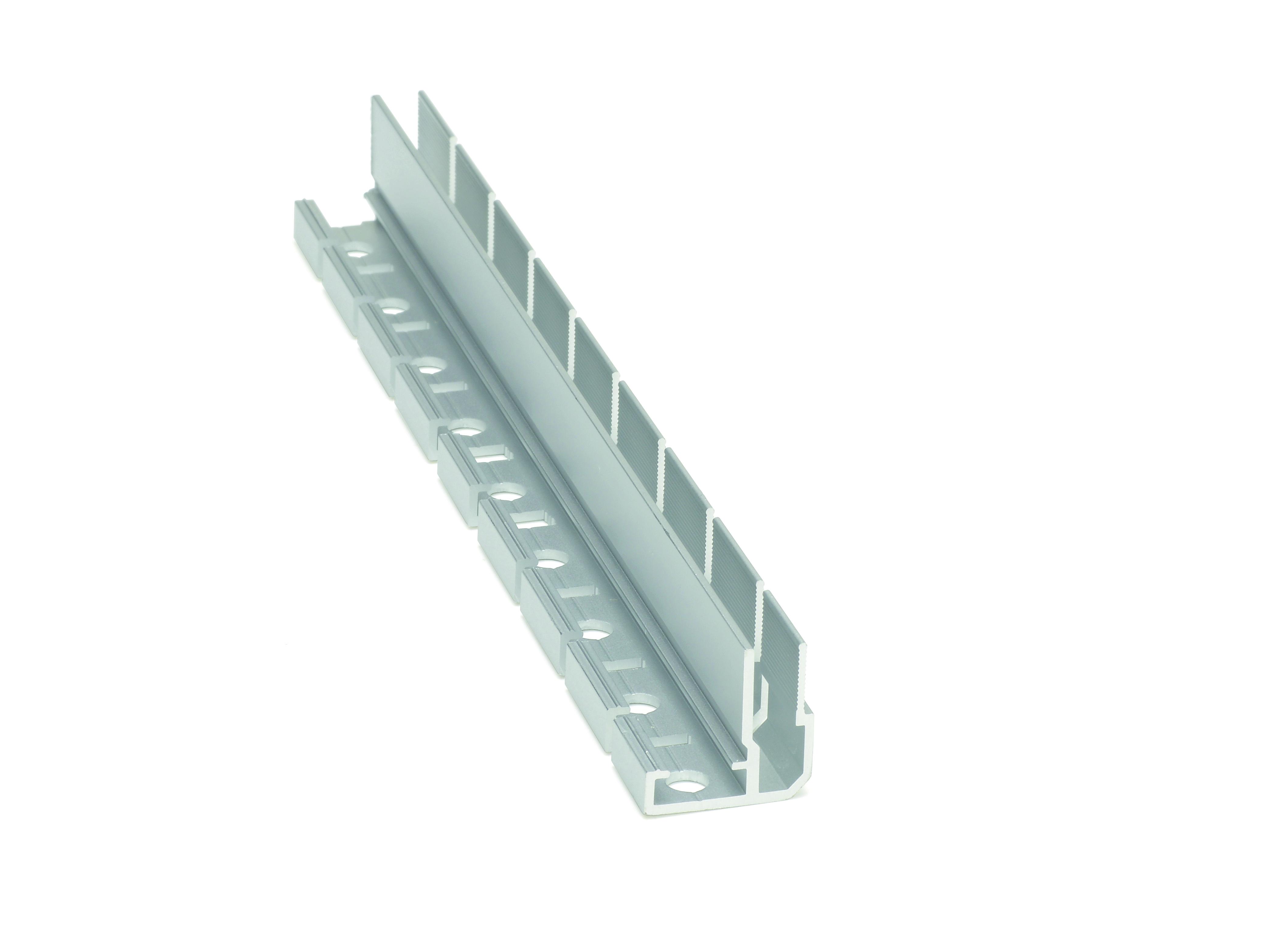 Deckenprofil 5 EX eingesägt horizontal